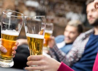 Drinking a couple of pints a day could help reduce risk of depression