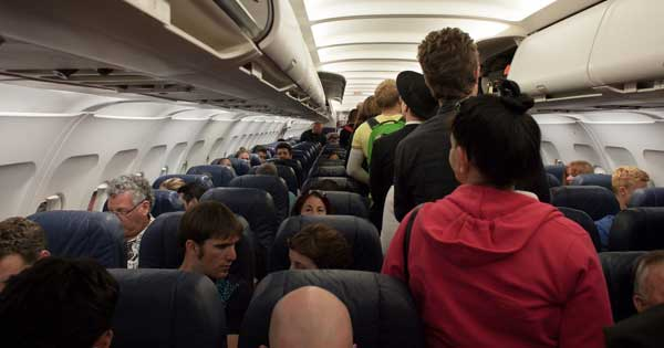 Plane passengers could be weighed before boarding to reduce fuel wastage