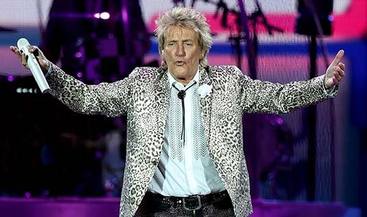 Sir Rod Stewart still performing after 50 years